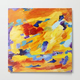 Abstract910 Metal Print
