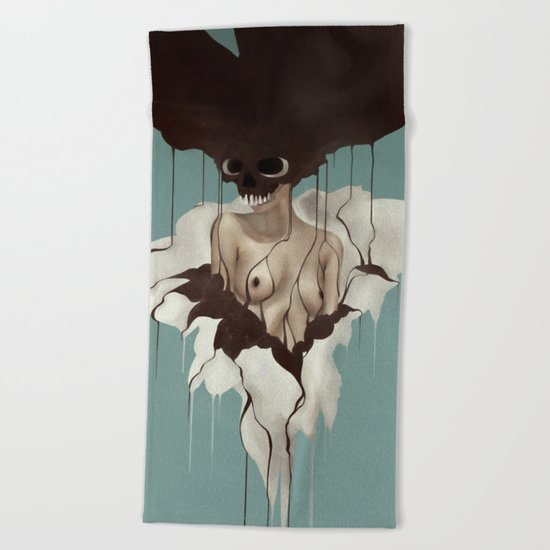 Death By Chocolate Beach Towel