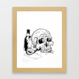 Skull Abuse  Framed Art Print