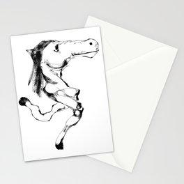 Slumokra the two legged Horse Stationery Cards