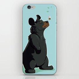 Black Bear iPhone Skin