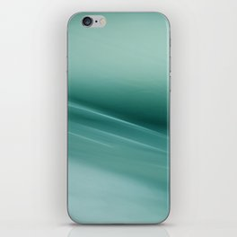 Fantasy Space Lines 1 Turquoise iPhone Skin