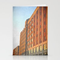 detroit Stationery Cards featuring DETROIT STRONG by Teresa Chipperfield Studios
