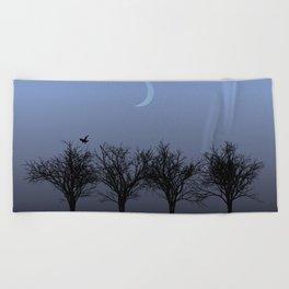 4 Trees Beach Towel