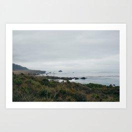 Gray Skies in California Art Print