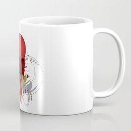 Beautiful Bleeding Skull Coffee Mug