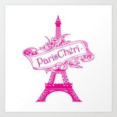 ParisChéri Art Print