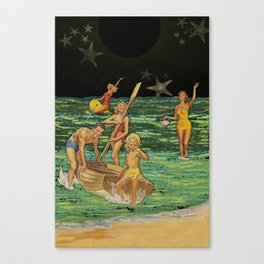 Seaside Star-field Canvas Print