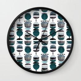Modern Botanics Wall Clock