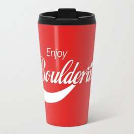 Enjoy Bouldering Travel Mug