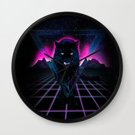 Jaguar Poster Wall Clock