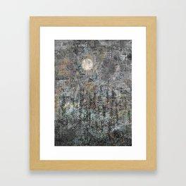 Low Winter Sun Framed Art Print