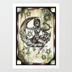 Champagne Of The Dead Art Print
