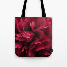 Pink Peony flower Tote Bag