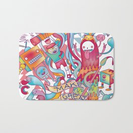 Together We're Awesome! Bath Mat