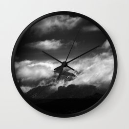 """""""Only one moment"""" Wall Clock"""