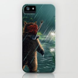 In the Rain iPhone Case