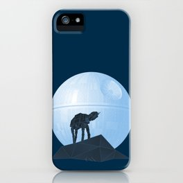 Howl at at the Moon iPhone Case
