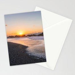 Salt air at sunset Stationery Cards