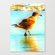 You are the Only Gull for Me! Canvas Print