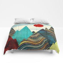 Color Peaks Comforters