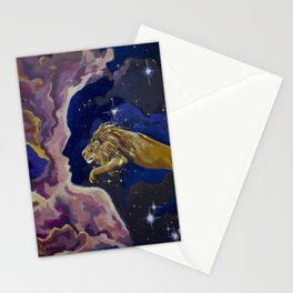 Aslan Is On the Move Stationery Cards