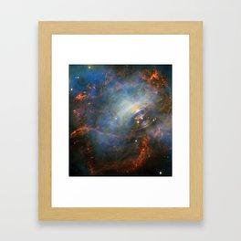 Beating Heart Nebula Framed Art Print