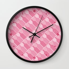 Wine Forever - Rosé Wall Clock