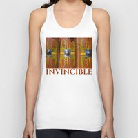 military Tank Tops featuring Roman Military Shield - Scutum by digital2real