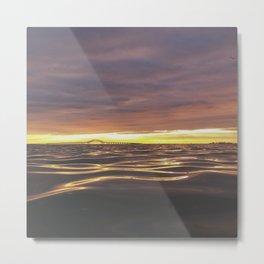 long island sunrise part 2 Metal Print