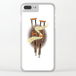 Crutchless Clear iPhone Case