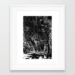 disturb III Framed Art Print