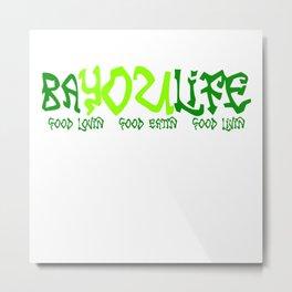 Bayou Life Metal Print