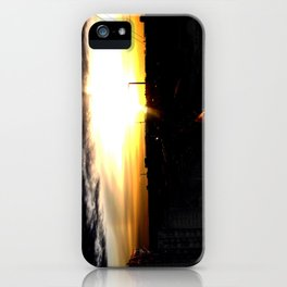 Fire in the sky(1) iPhone Case