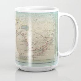 Antique Florida Keys Map Coffee Mug
