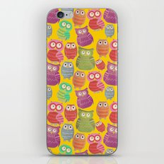 Bright Owls iPhone & iPod Skin