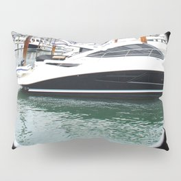 Port Hole View of Boston Pillow Sham