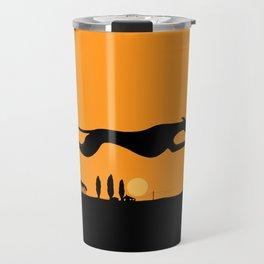 Halloween Whippet Travel Mug