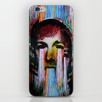lovecraft iPhone & iPod Skins featuring Howard Phillips Lovecraft  by DIVIDUS