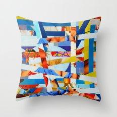 Marko (stripes 8) Throw Pillow