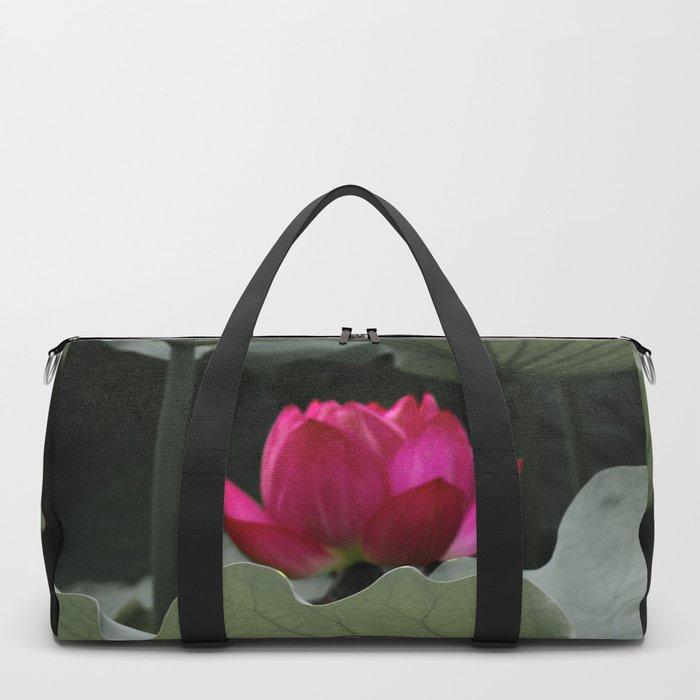 Nature's Pink Duffle Bag