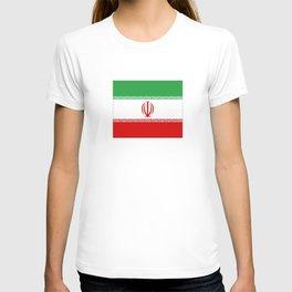 flag of iran- Persia, Iranian,persian, Tehran,Mashhad,Zoroaster. T-shirt