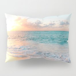 Pink Sea Pillow Sham