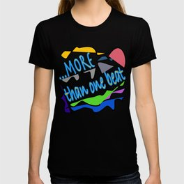 more than one beat T-shirt