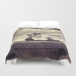 The Leaning Tree Duvet Cover