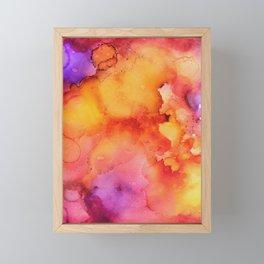 Flash Point Framed Mini Art Print