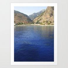 Crete, Greece 9 Art Print