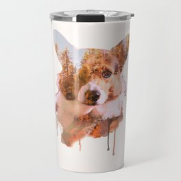 Corgi Forest Travel Mug