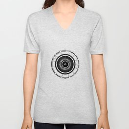 Abstract Circle Of Zelda Unisex V-Neck