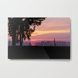 Sunset on Sandpoint Metal Print